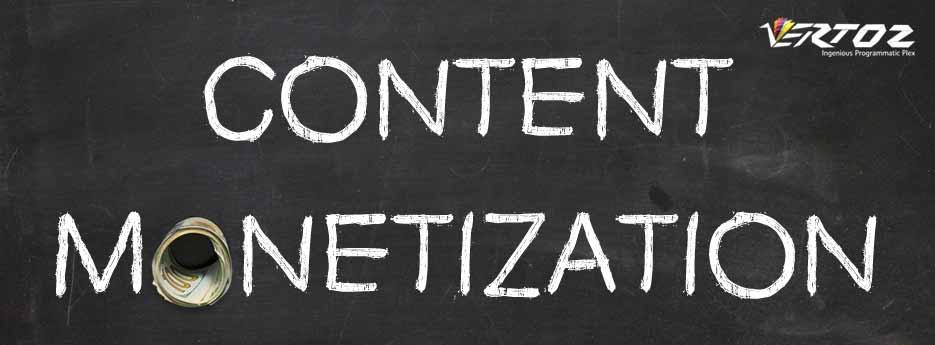 Content monetization