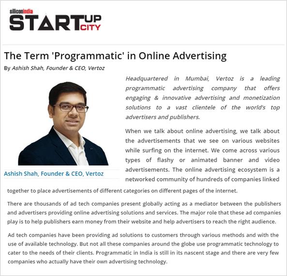 Online Programmatic Advertising