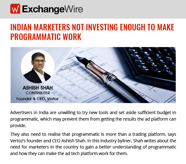 Invest More in programmatic ExchangeWire_599x529
