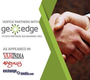 Vertoz - GeoEdge partnership