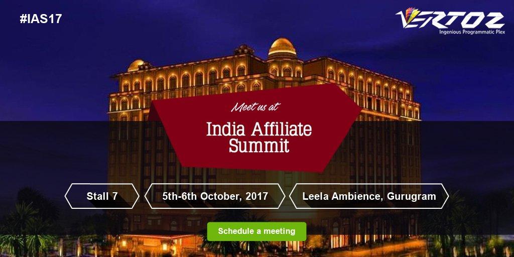 India Affiliate Summit 2017