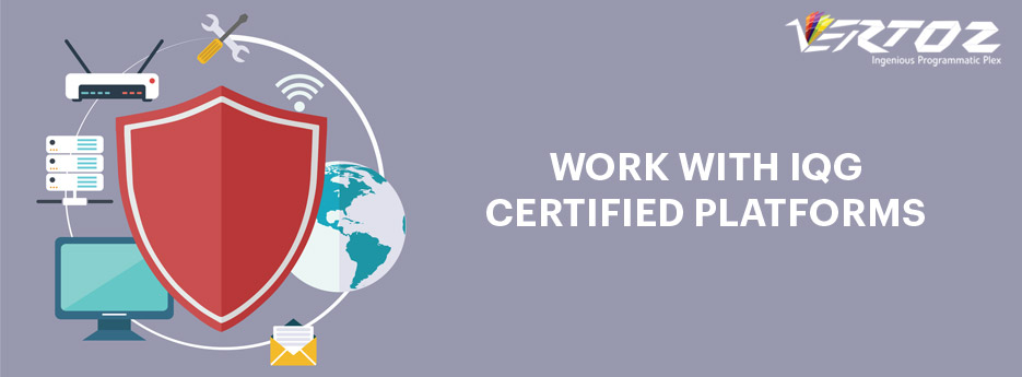 Work with IQG Certified