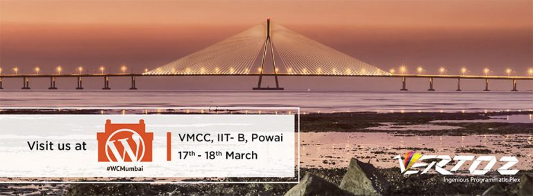 Vertoz is attending WordCamp Mumbai 2018 between 17th-18th March