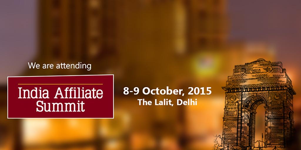 India Affiliate Summit 2015