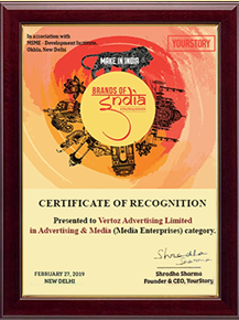 Brands Of India Awards '19