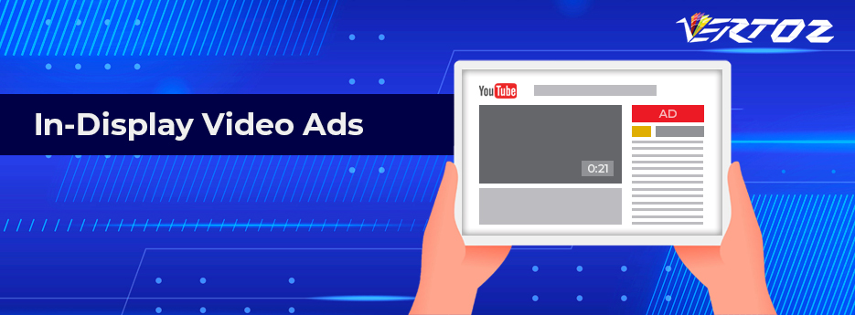 Indisplay video ads